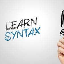 منهج Syntax