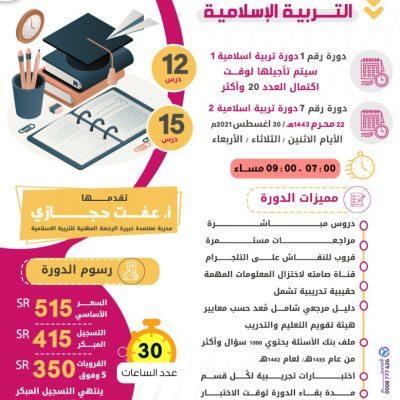 الرخصة المهنية للتربية الإسلامية (1) 1443